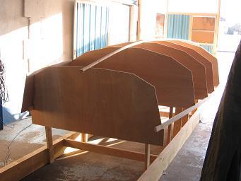 construction voilier Lili 6,10