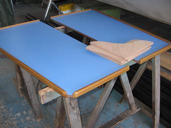 Abattants table carré Pytheas