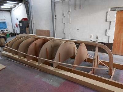 Charpente Lugger 6m