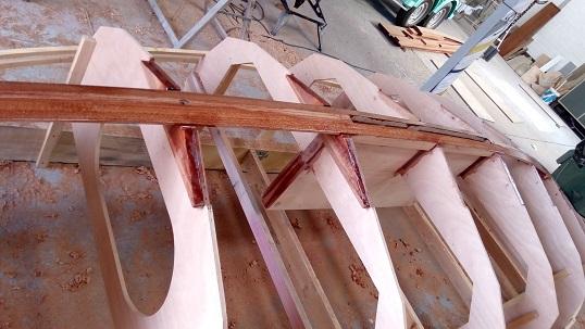 Insula charpente axiale