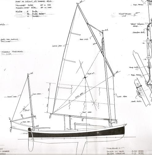 Lugger 6m de Paul Gartside