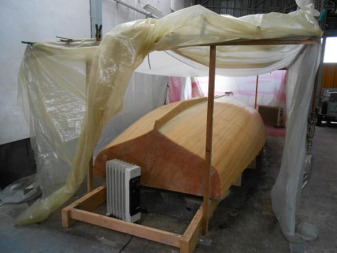 Lugger 6m - Strat. extérieure