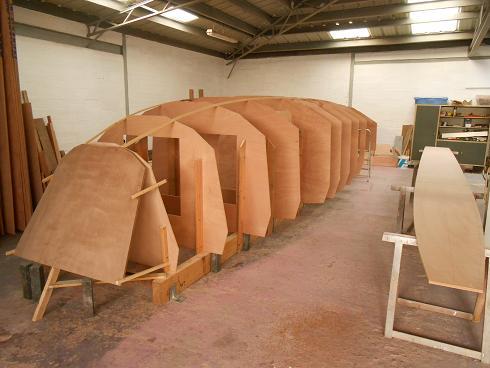 Musard 29 cloisons structurelles en place
