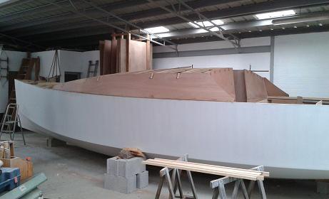 P31 Fabrication du rouf à teugue