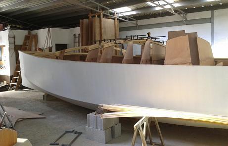 P31 début construction du roof
