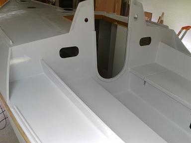 P31 peinture du cockpit