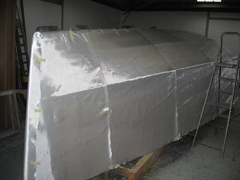 P31 sergé posé à blanc