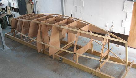 Sharpie structure montée sur le chassis