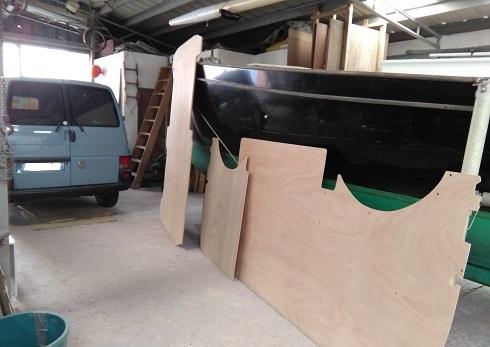 Plancher - parois fourgon VW T4